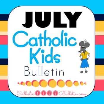 2019 July Catholic Kids Bulletin