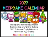 2019 Keepsake Calendar