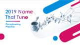 2019 Name That Tune