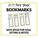 2019 New Year Bookmarks (w/ Goal Setting!)