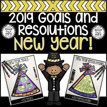 2019 New Year Goals & Resolutions Activities