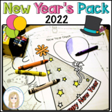 2019 New Year's Pack: Glyph, Graphs, Writing Papers, Crown