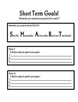 2019 New Year's Goal Setting Packet