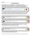 2019 New Year's Resolution Tweets in Spanish.  Los Propósitos de 2019.