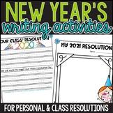 New Year's Resolution Writing Activities