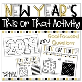 2020 New Year's This or That Activity