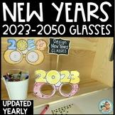 2021 NEW YEARS Printable Glasses    Graduation   SPORTS