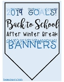 2019 New Years Goals Banners