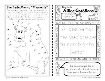 2019 Noviembre Boletín para Niños Católicos