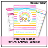 NEW Prac Planner for Australian Preservice Teachers - Editable