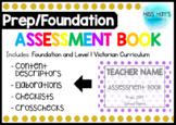 Prep/Foundation Assessment Book - Victorian Curriculum 2019