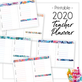 2019 Printable Teacher Diary Planner - ACT School Term Dates