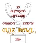 2019 Quiz Bowl Current Events