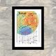 2019 Rainbow Moon Lunar Calendar - Printable PDF