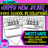 2019 School and Personal New Year Resolutions Banner