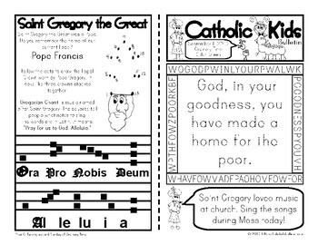 2019 September Catholic Kids Bulletin