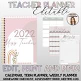 2021 Printable Teacher Planner