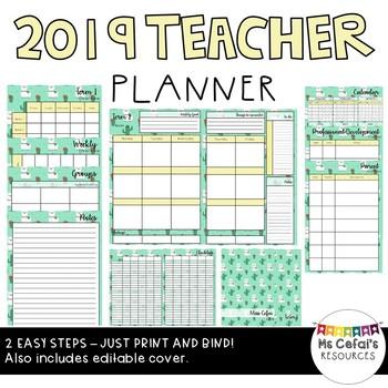 2019 Teacher Planner (Cria)