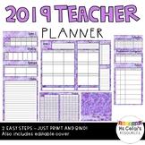 2019 Teacher Planner (Patchwork)