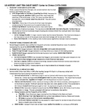 2019 US History STAAR EOC Unit 10 Carter to Clinton Quick notes