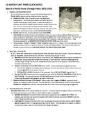 2019 US History STAAR EOC Unit 3 Rise of a World Power Quick Notes