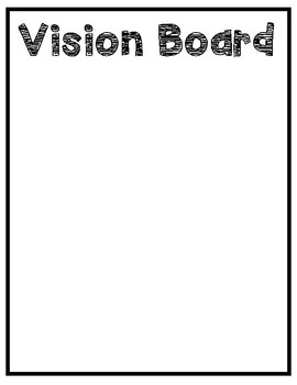 2019 Vision Board