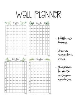 2019 Wall calendar - Western Australia