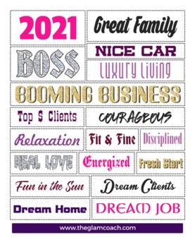 2019 vision board   Boss   Vision Board   Printable   Quotes   Download      Cut