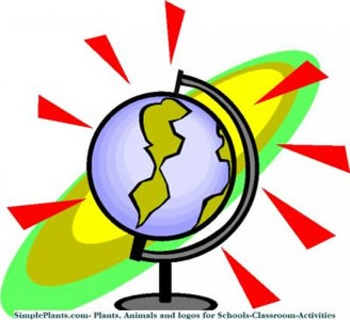202 Geography/Map Internet Assignments for Entire Globe Gr