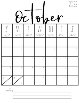 2020-2021 Blank Calendars {FREEBIE!} by Tami Teaches ...