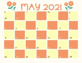 FREE 2020-2021 Calendar - Full Color Printable by ...