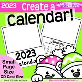 2021 Calendar SMALL Parent Christmas Gift for Parent {Calendar Printable} CD 1