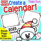 2021 Calendar SMALL {Calendar Printable} Parent Christmas Gift for Parent CD 2
