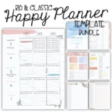 2020-21 Happy Planner Teacher Template BUNDLE {+BONUS PAGES!!}