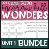 Wonders 2020 3rd Grade Unit 1 Reading Resources BUNDLE