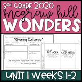 Wonders 2020 3rd Grade Unit 1 Weeks 1-2 Reading Resources