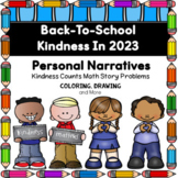 2020 Being Kind In School - Personal Narratives and More