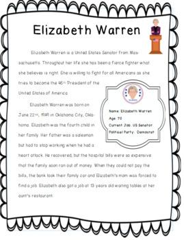 2020 Candidate Profile: Elizabeth Warren