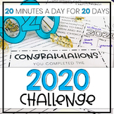 New Year 2020 Craft Activity and Challenge - 20 Minutes a