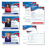 2020 Democratic Primary Election Posters and Worksheets