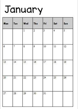 2020 Australian Editable Mandala Flower Teacher Diary/Planner