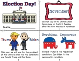 2020 Election Day Mini Book/Coloring Page/Voting Badges/Ballots