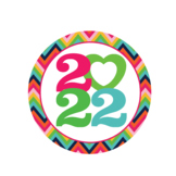 2020 Girl Scouts Inspired Year Tags New Colors