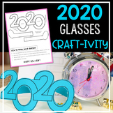New Year 2020 Glasses Craft Activity