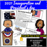 2021 Inauguration & President's day BIDEN / HARRIS VIRTUAL or FACE TO FACE