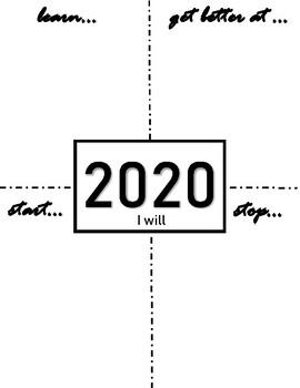 2020 Intention