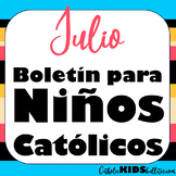 2020 Julio Boletín para Niños Católicos