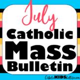 2020 July Catholic Kids Bulletin