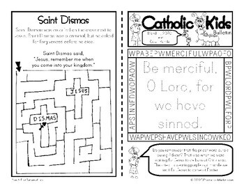 2020 March Catholic Kids Bulletins