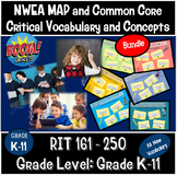 2020 NWEA MAP and Common Core Vocabulary Boom Deck Bundle